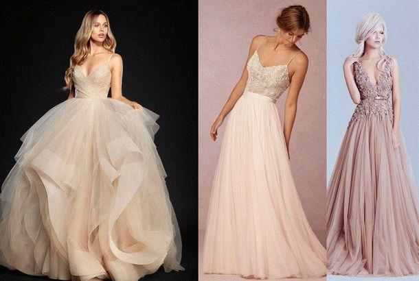 Модные платья светлых оттенков