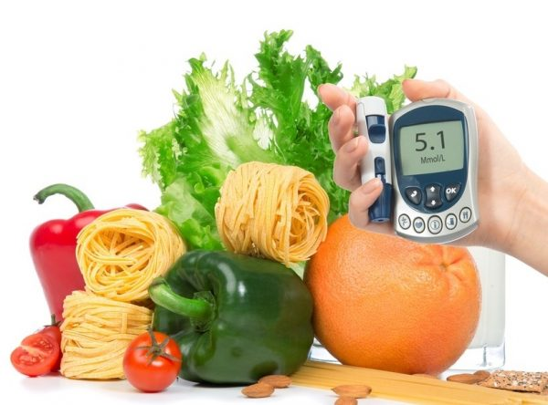 Диета поможет снизить уровень сахара