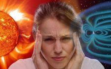 Во время магнитных бурь возникают сильные головные боли