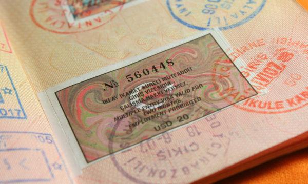 Так выглядит турецкая виза