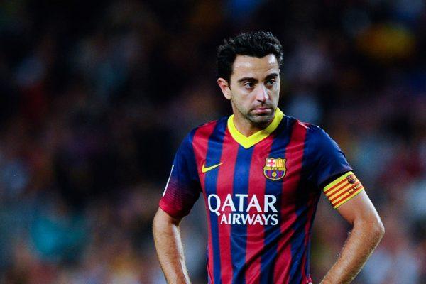 Испанский футболист Хави