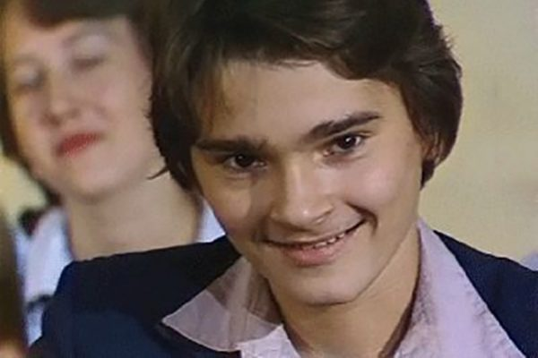 Александр Жигалкин в юности
