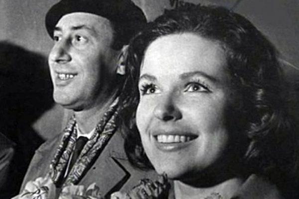 Наталья Фатеева и Владимир Басов