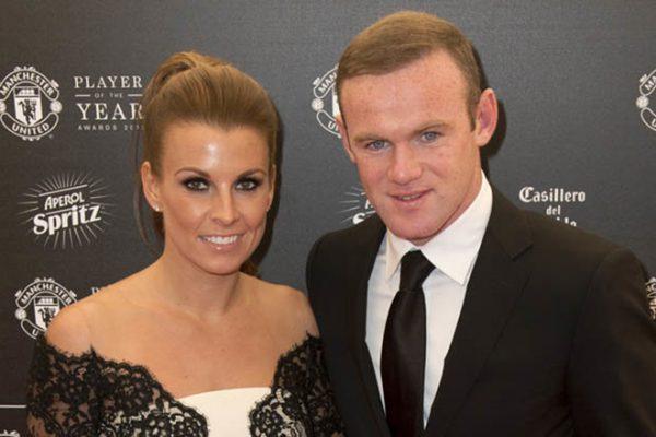 Уэйн Руни с женой