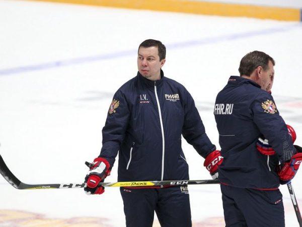 Илья Воробьев на льду