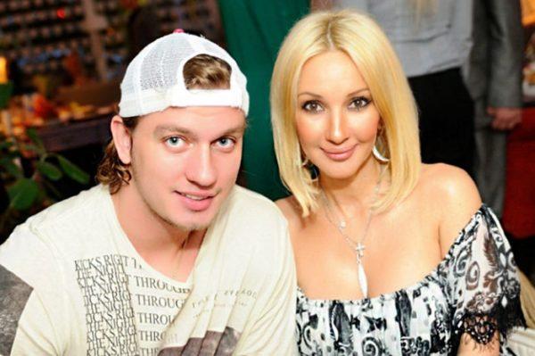 Кудрявцева со своим мужем