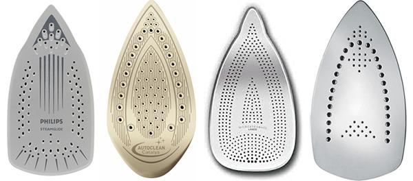Типы покрытия утюгов