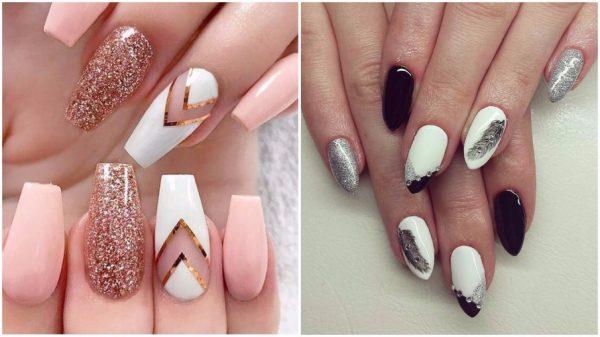 Разная форма ногтей