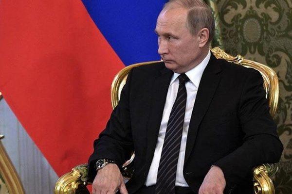 Действующий президент Владимир Путин