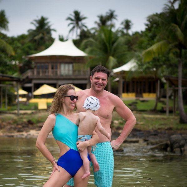Супруги на отдыхе в Таиланде
