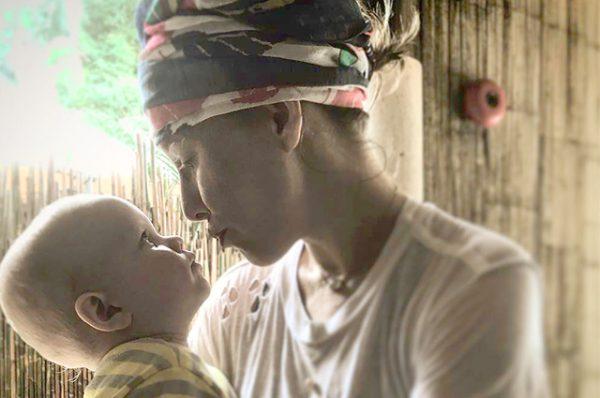 Ксения Собчак со своим сыном