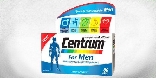 Витамины Центрум для мужчин