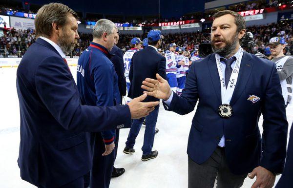 Олег Знарок и Илья Воробьев (слева направо)