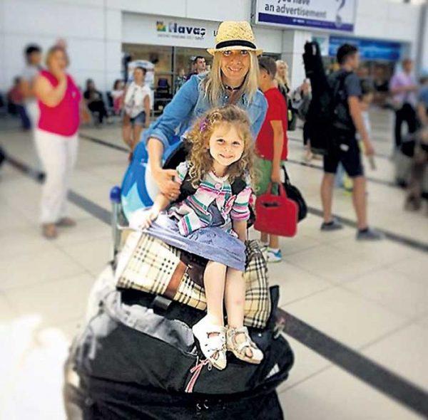 Захарова со своей дочерью