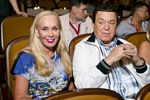 Иосиф Кобзон со своей женой