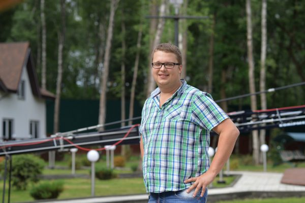 Фото Егора до похудения
