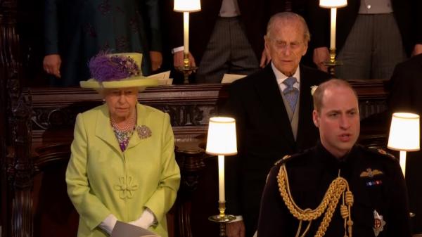 На торжество прибыли королева Елизавета II с мужем и другие члены королевского семейства
