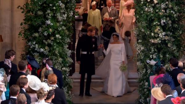 Гарри и Меган официально стали мужем и женой!