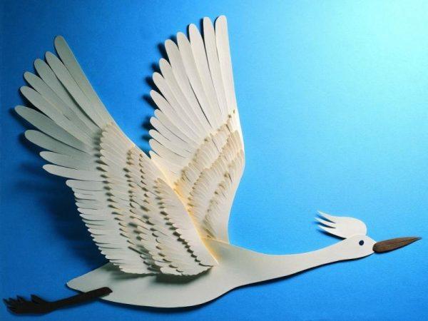 Летающая птица своими руками