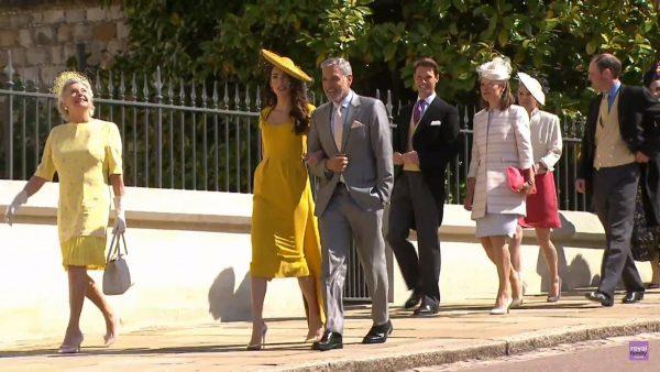 Также на свадьбе присутствовали Джордж Клуни с супругой Амаль