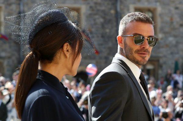 На свадьбу были приглашены Дэвид и Виктория Бекхэм