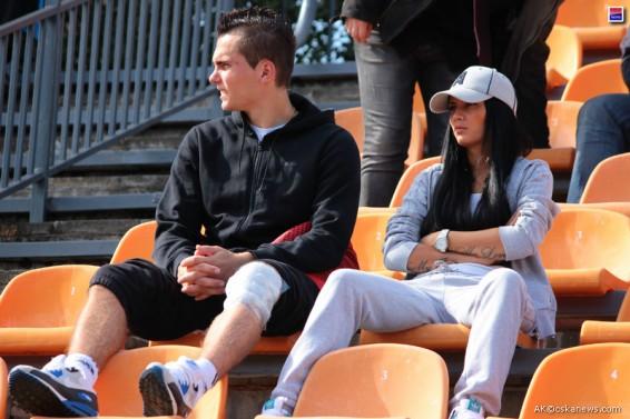 Антон Заболотный с женой