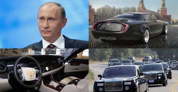 В 2018 году Путин получит машину проекта «Кортеж»