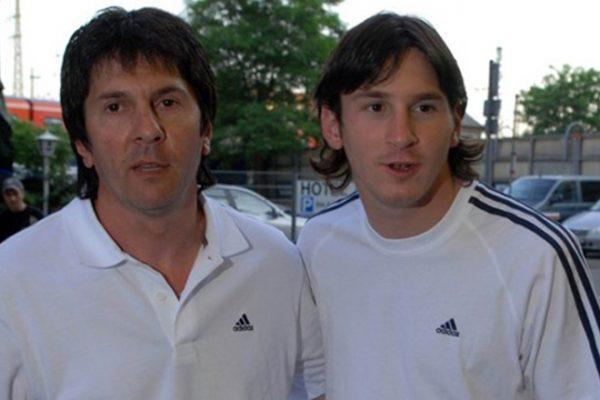 Лионель со своим отцом