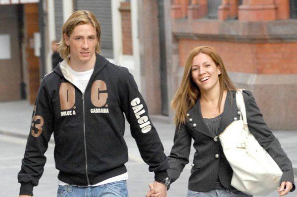 Фернандо Торрес с супругой