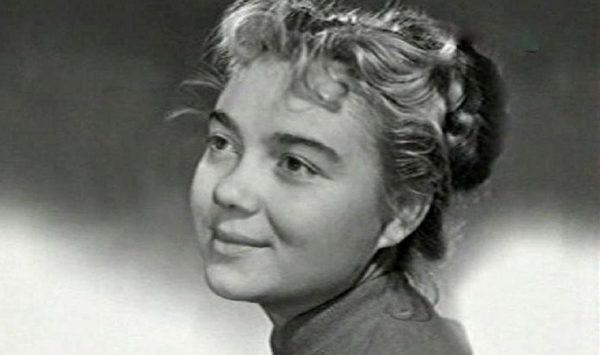 Нина Дорошина в молодости