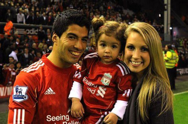 С женой Софи и дочерью