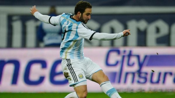 Гонсало Игуаин играл за сборную Аргентины