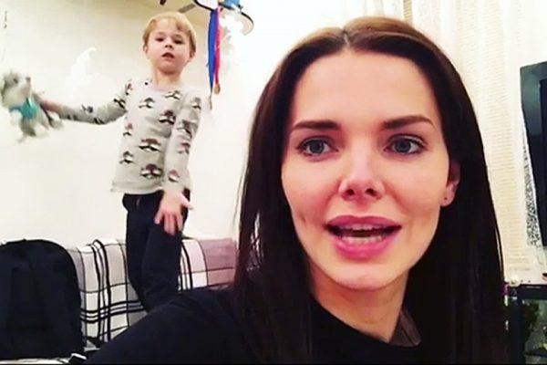 Лиза Боярская впервые показала фото своего сына