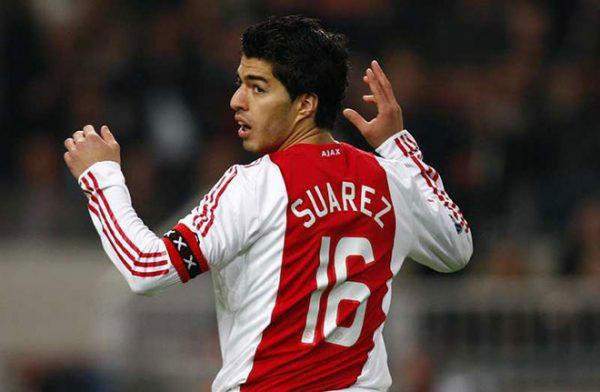 Луис Суарес играл за клуб «Аякс»