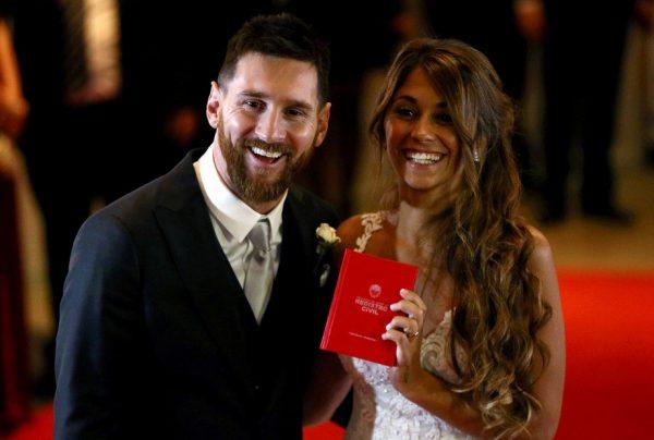Свадебные фото Лионеля и Антонеллы