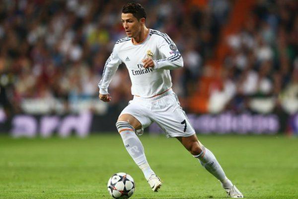 Криштиану Роналду в составе «Реал Мадрид»