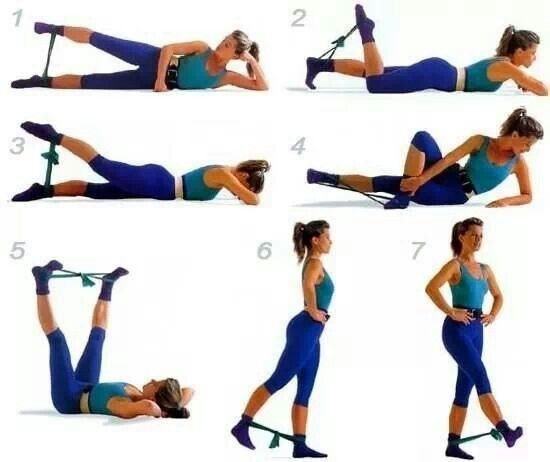 Как выполнять упражнения: пошаговая инструкция
