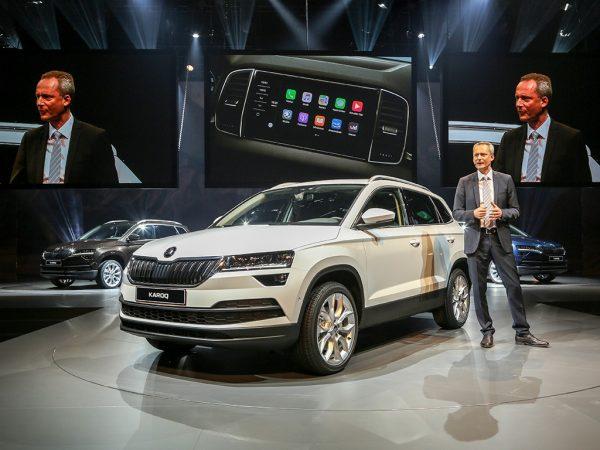 Презентация новой модели авто Шкода Карок 2018