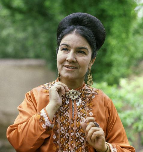 Народная артистка СССР певица Мая Кулиева