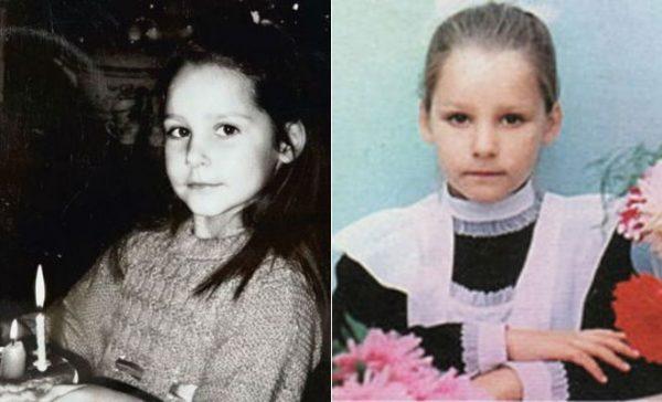 Глафира Тарханвоа в детстве