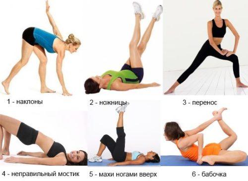 Какие упражнения лучше выполнять