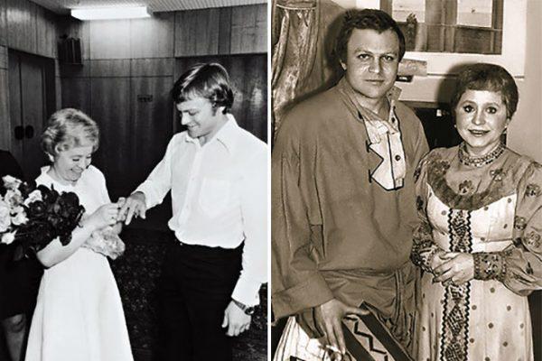 С муже Александром Соловьевым