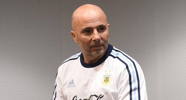 Главный тренер сборной Аргентины Хорхе Сампаоли