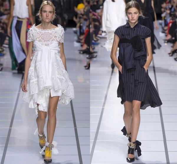 Модели платьев с завязывающимися рукавами