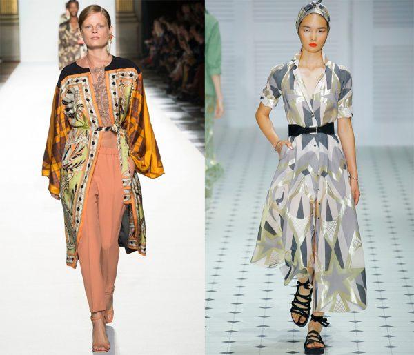 Платья-халаты