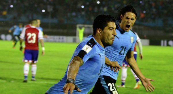 Уругвайцы празднуют свою победу