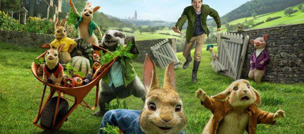 Кролик Питер и другие герои мультфильма