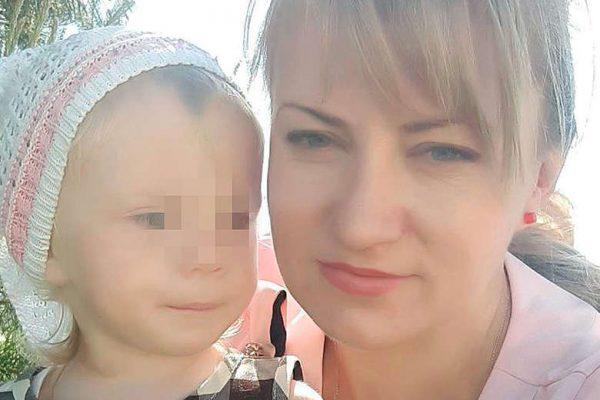 Наталья с младшей дочерью