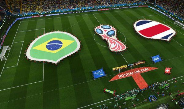 Матч Бразилия - Коста-Рика