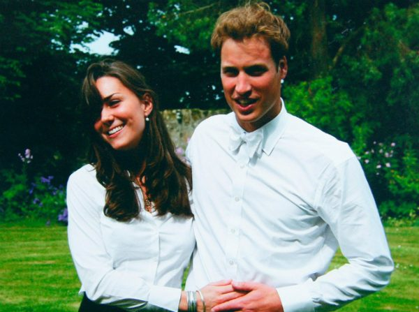 Кейт Миддлтон и принц Уильям 2005 год